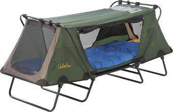 Camping Beds For Tents >> Cabela's Deluxe Tent Cot Single | Camping | Tent cot, Tent