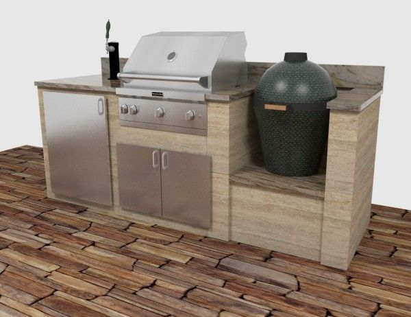 Sommerküche Weber : Green egg built in outdoor kitchen google search porches