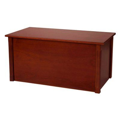 Wood Creations Dark Cherry Classic Toy or Blanket Chest - WTC-PLAIN-CB  sc 1 st  Pinterest & Wood Creations Dark Cherry Classic Toy or Blanket Chest - WTC-PLAIN ...