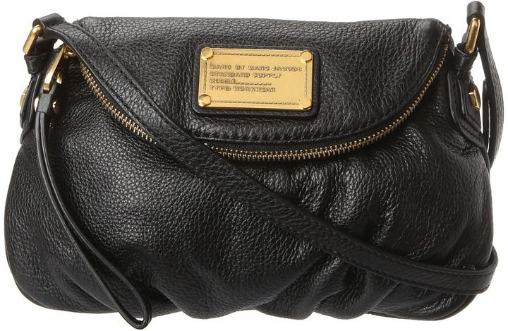31f98249c4 Marc by Marc Jacobs Classic Q Mini Natasha (Black 2) - Bags and Luggage on  shopstyle.com