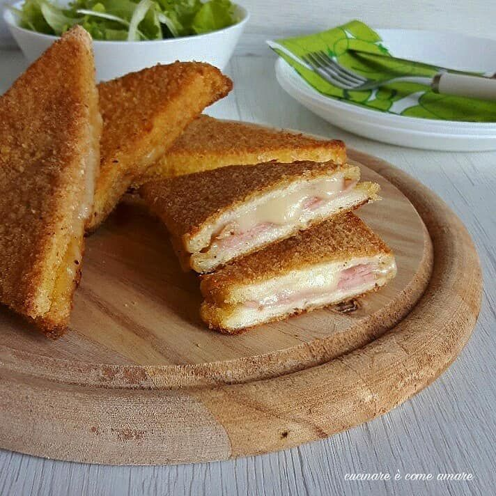 Photo of Baked breaded sandwiches Cooking is like loving