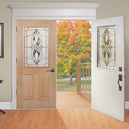 Rv 300 Oak N Steel Entry Door From Mastercraft We Can Install