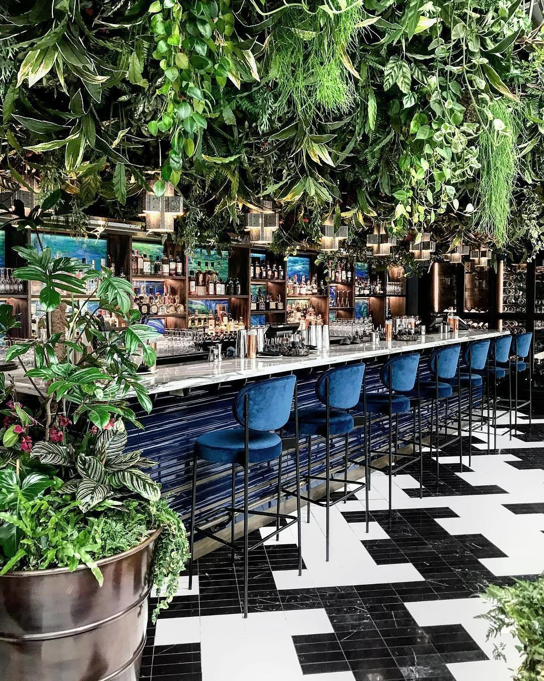 Welcome To The Jungle Sushisamba Have Recently Opened A Stunning New Restaurant In Covent Ga Bar Design Restaurant Cafe Interior Design Outdoor Restaurant