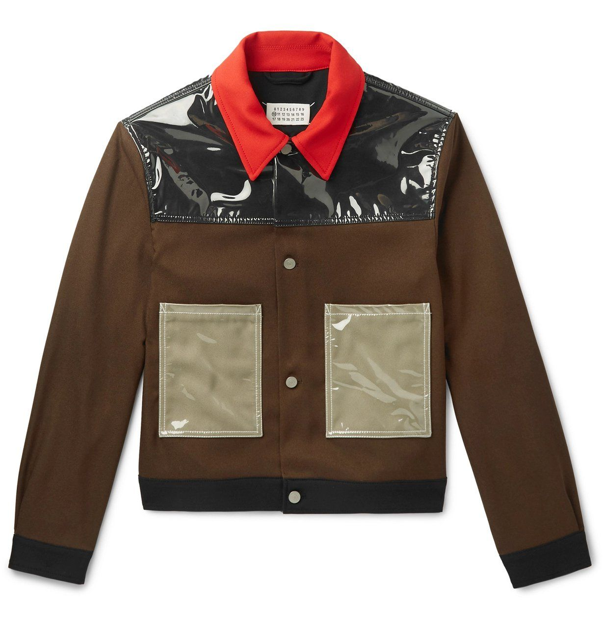 Mens PVC Trucker Jacket Movies Jackets for sale