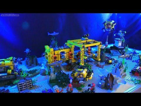 Lego City Deep Sea Exploration Scene All 2015 Sets Lego City Lego Submarine Lego