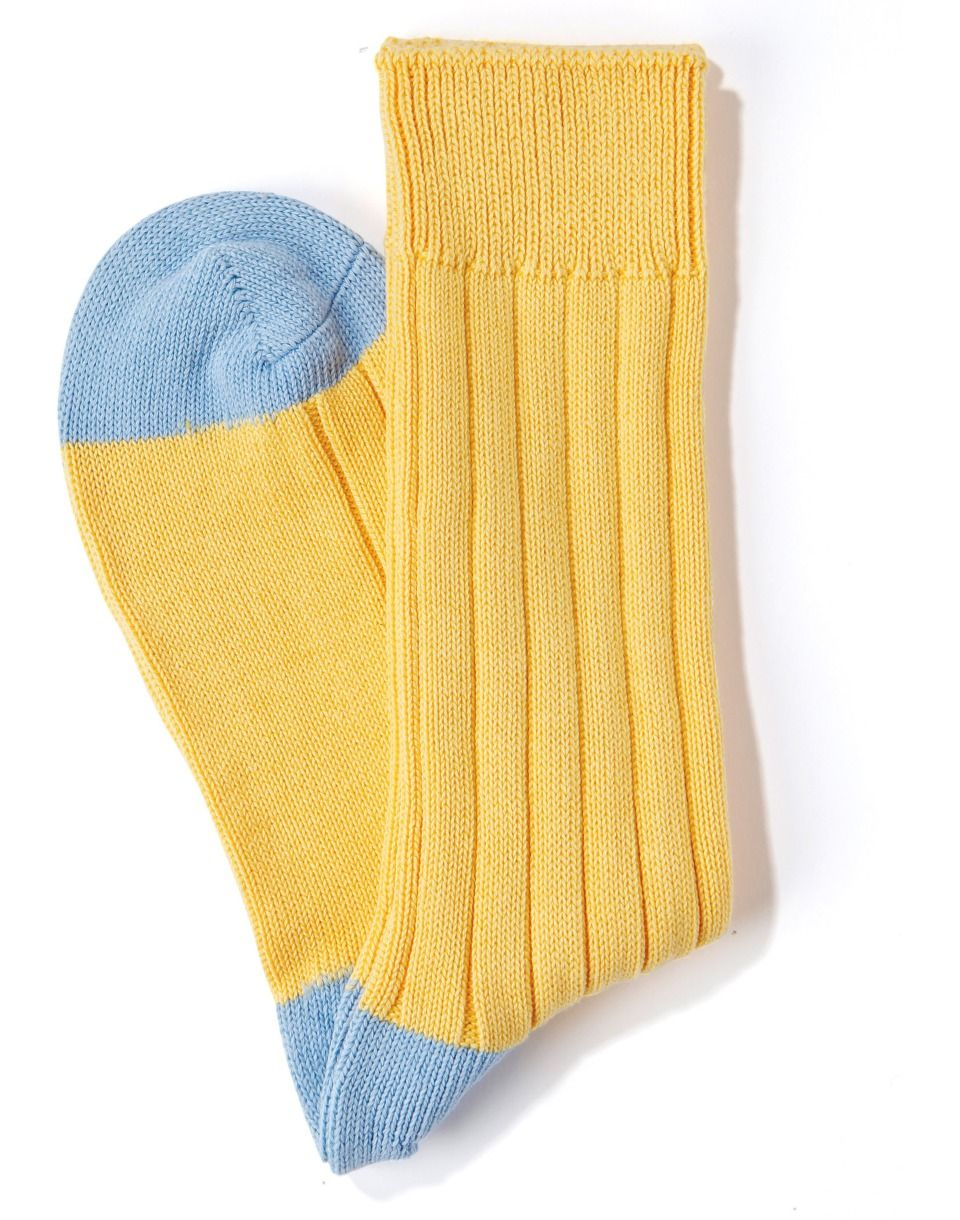 255520999 Danvers - 5x3 Rib - Fil d Ecosse   Cotton Lisle - Long Men s Socks .