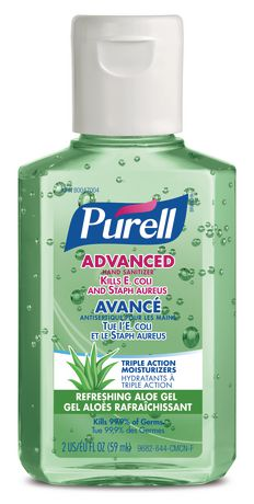 Purell Hand Sanitizer With Aloe in 2020 Hand sanitizer