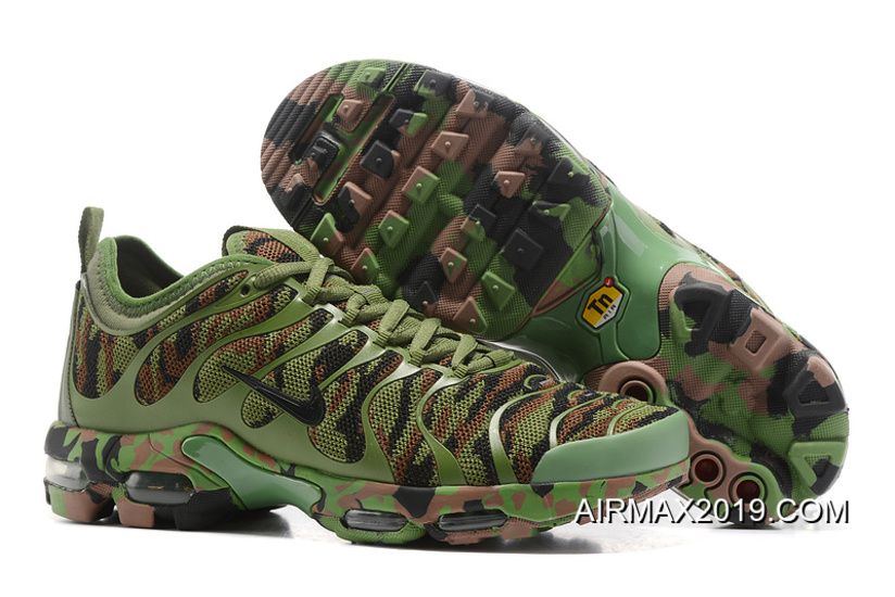 2019 Top Deals Men Nike Air Max Plus Tn Ultra Camouflage Running Shoe Sku 186994 243 Price 76 77 Nike Air Max Outlet 2019 New Air Max Shoes Nike Air Max Plus Nike