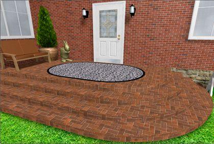 Photo 3 DIY Landscape Design Pinterest Best Of Concrete Patio Design  Software