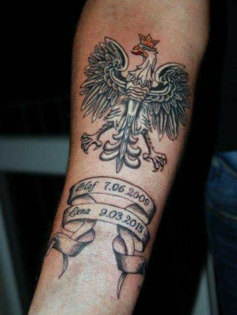 Godło Polski Polish Eagel Tattoo Pinterest Tattoos Polish I Ink