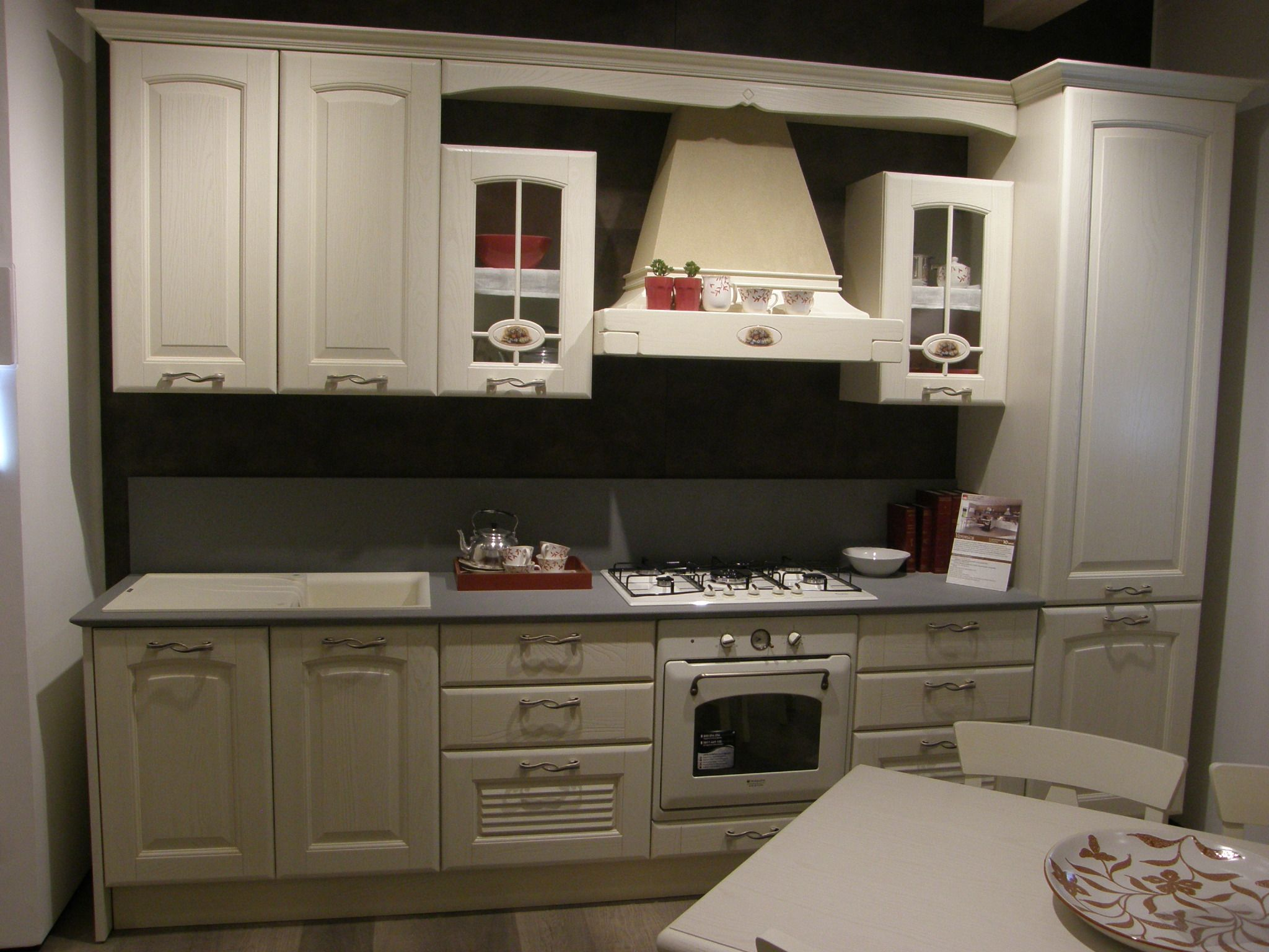 Cucina LUBE Laura Sconto Outlet 50 | Kitchen country, Shabby and ...