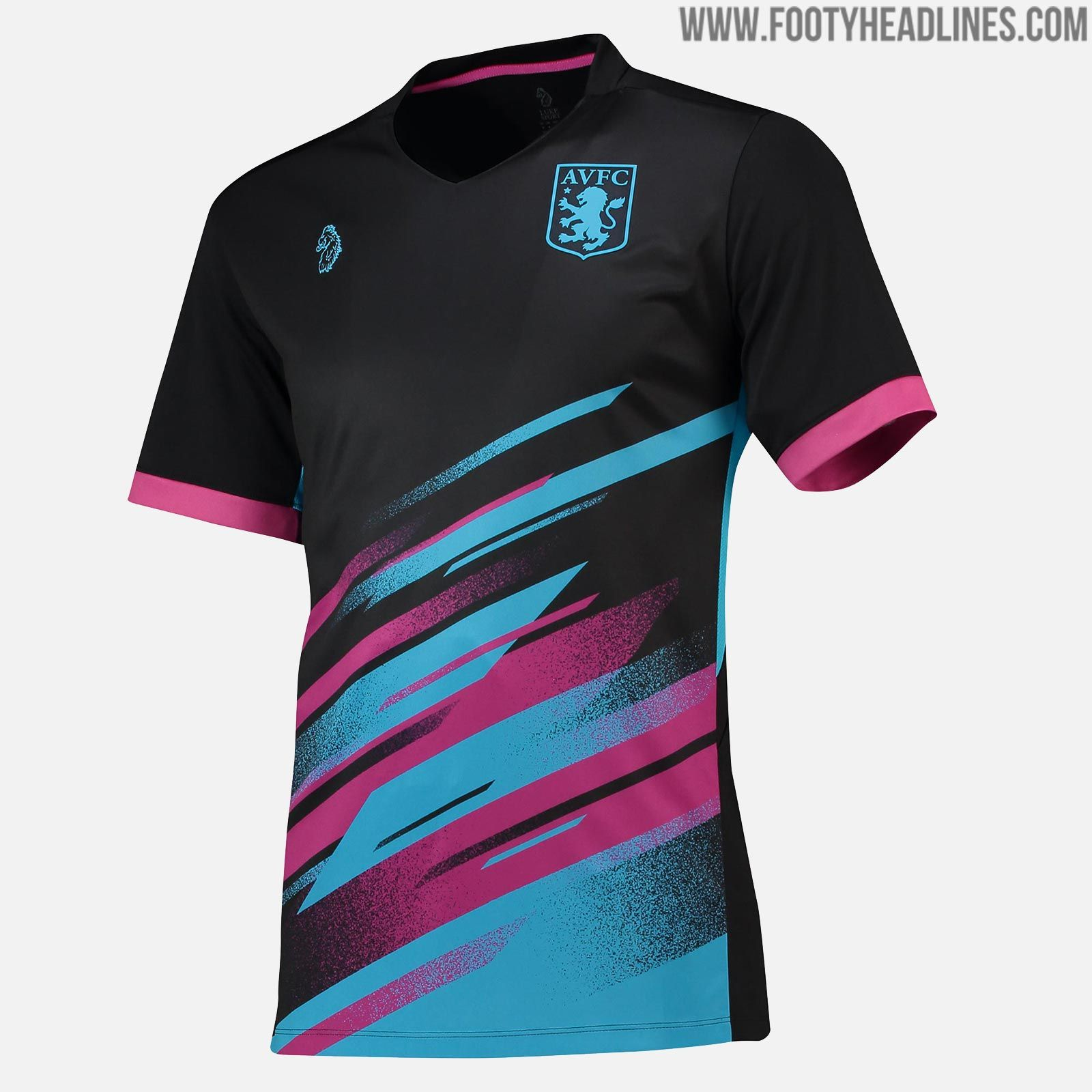 e4a7a2c14 Modern Aston Villa 18-19 Pre-Match   Training Jerseys Released - Footy  Headlines