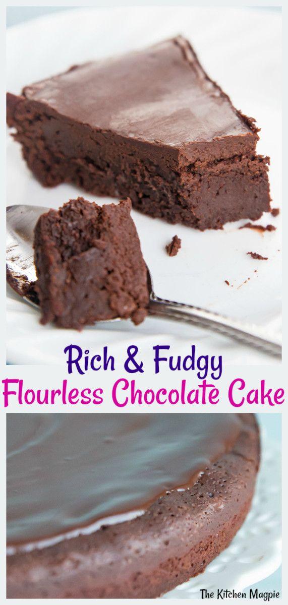 Flourless Chocolate Cake   The Kitchen Magpie