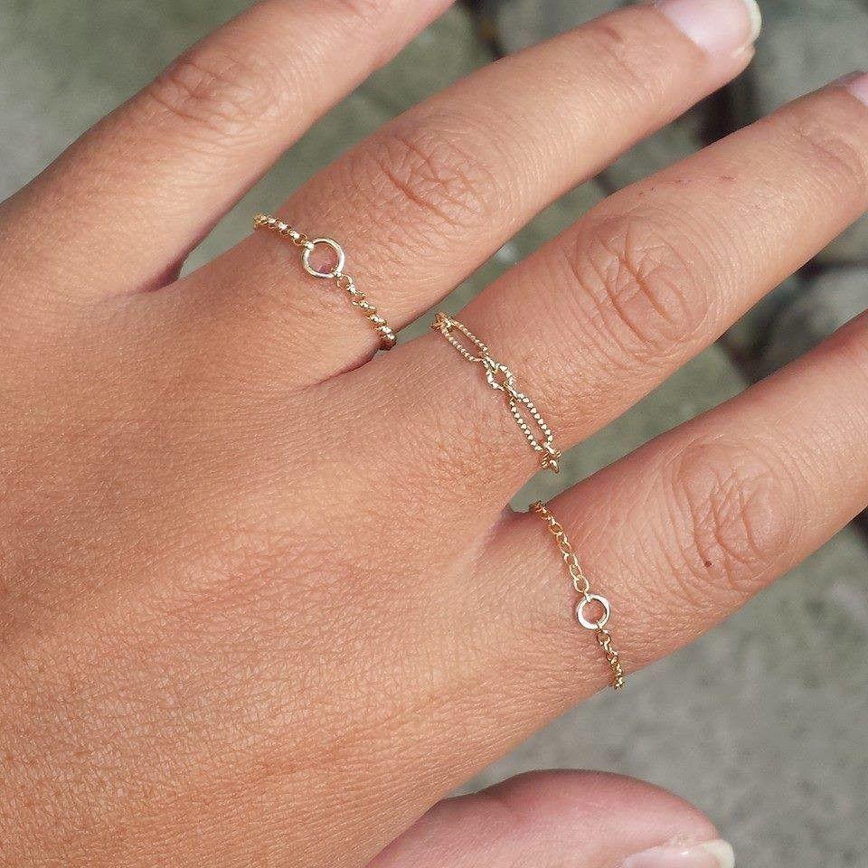 Simple Rings (chain rings)