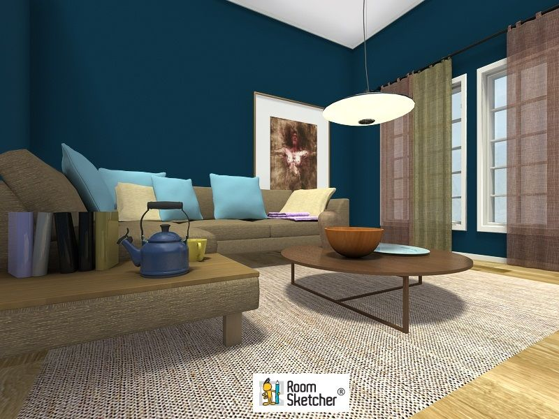Are You An Interior Design Professional See How Roomsketcher 3D Inspiration Living Room Design Tools Decorating Inspiration