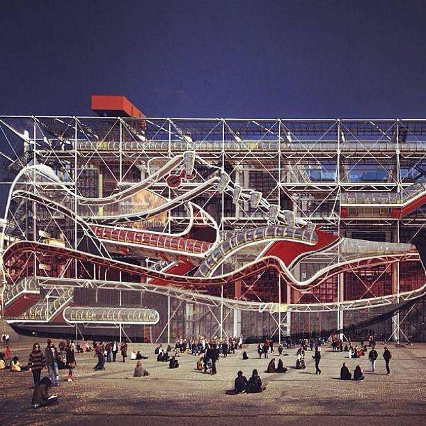 nike centre pompidou