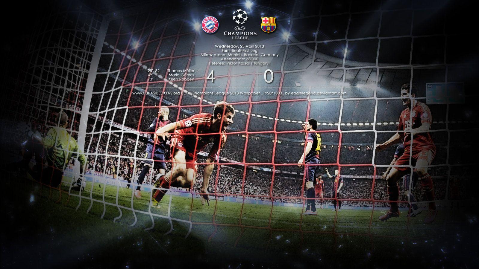 Bayern Munich Vs Barcelona Wallpaper By Eaglelegend Deviantart Com On Deviantart Bayern Munich Wallpapers Bayern Munich Bayern