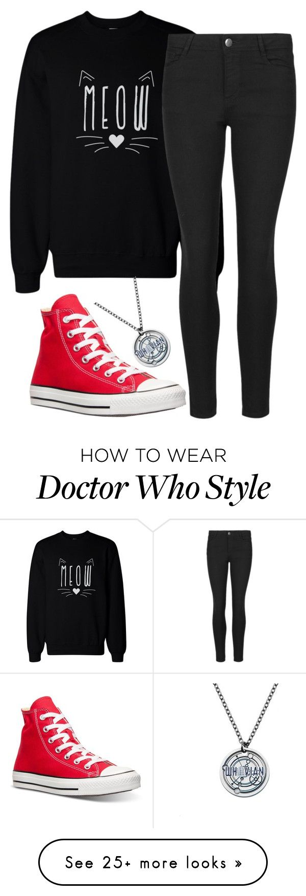 """Polyvore Tag"" by swallowed-by-the-universe on Polyvore featuring Indigo Collection, Converse, women's clothing, women's fashion, women, female, woman, misses, juniors and Tag"