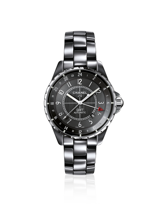 bfb2575d1d0 Chanel J12 CHROMATIC GMT Titanium ceramic. Self winding mechanical  movement. 42 hour power reserve. Available at London Jewelers!