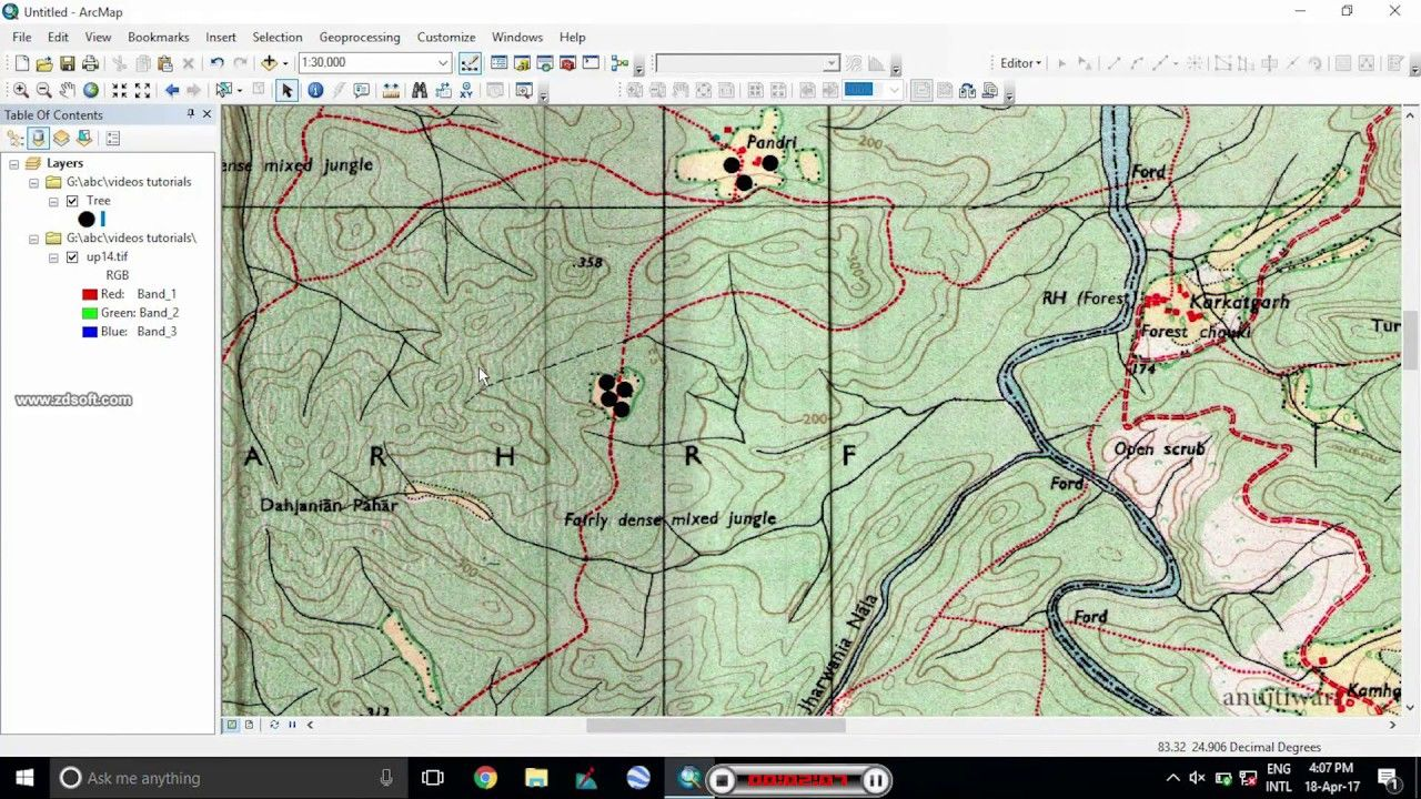 Creating Point Shapefile In Arcgis Remote Sensing Create Autocad