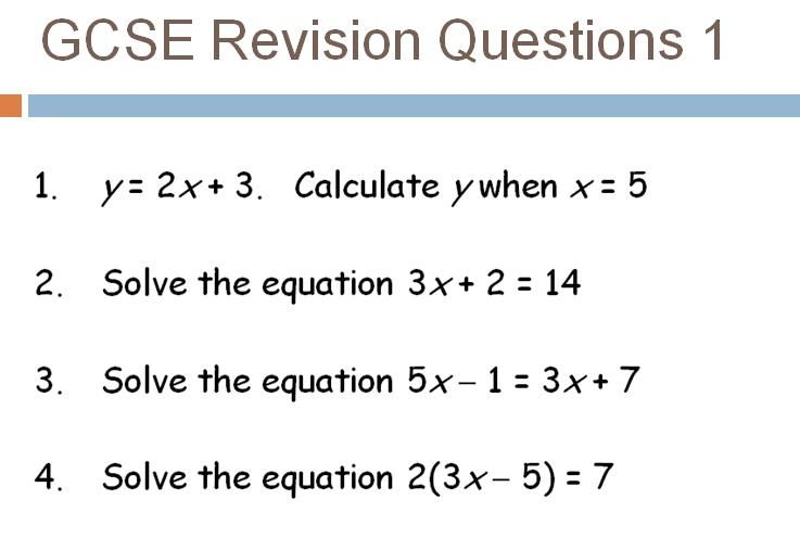 Gcse higher level revision starters high level starters and maths many cambridge revision review questions fandeluxe Images