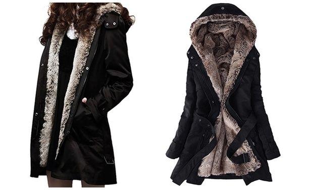 Plaszcz Dluga Kurtka Futerko Zimowa Czarna Roz Xl 6085642968 Oficjalne Archiwum Allegro Fashion Victorian Dress Dresses