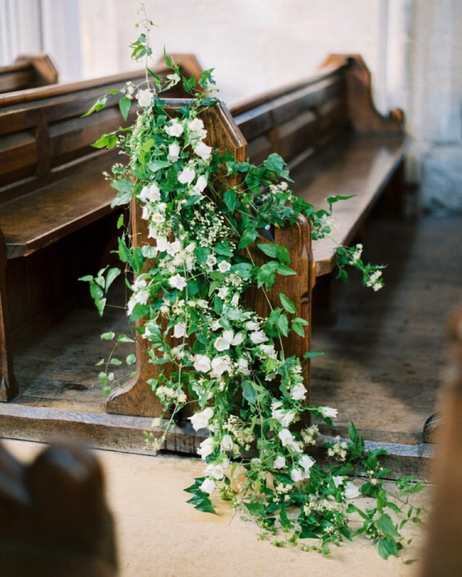 Flowers For Church Wedding Ceremony: @sarah_winward Beautiful Florals From