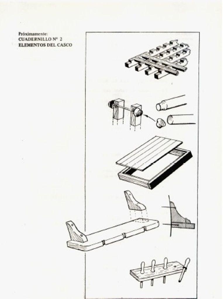Manuales para la construcción de barcos a escala. Es
