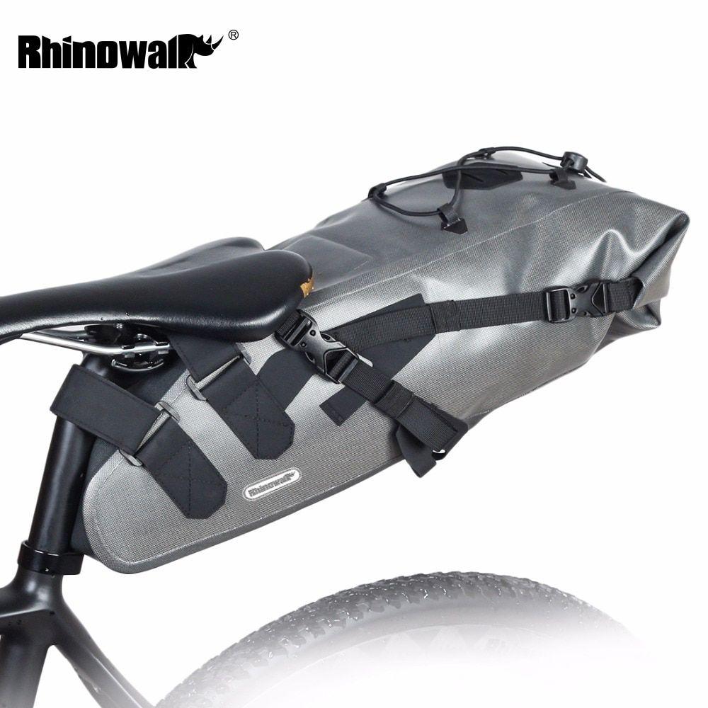 Rhinowalk 2019 Newest 10l 100 Waterproof Bike Bag Bicycle Saddle