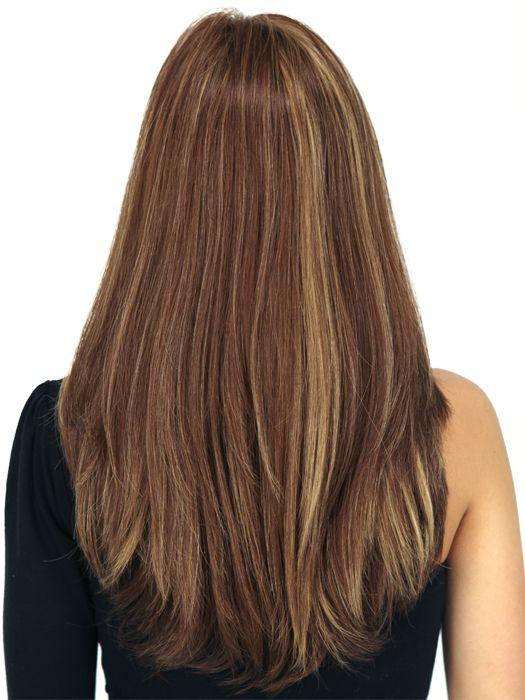 straight hair view - google