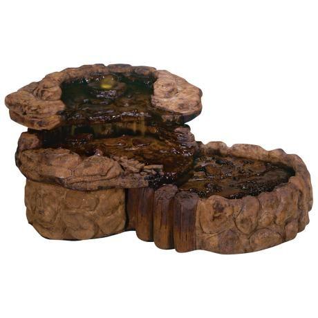 Henri Studio Pebble Spill Garden Fountain -