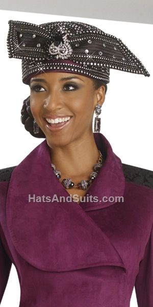 DonnaVinci Couture HATS Style H5497 Fall & Holiday 2015