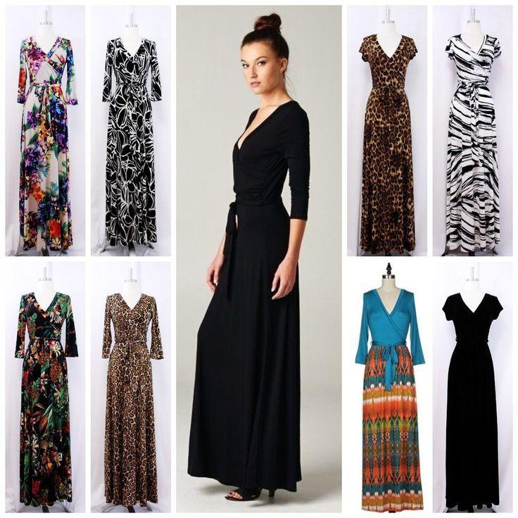 Boho hippie maxi dresses