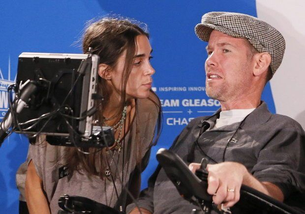 Former New Orleans Saints Player Als Patient Steve Gleason