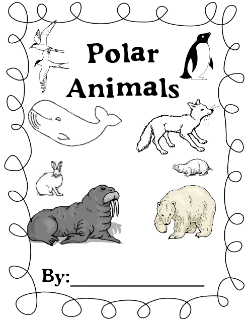 Polar Animals and a Writing Freebie! Polar animals