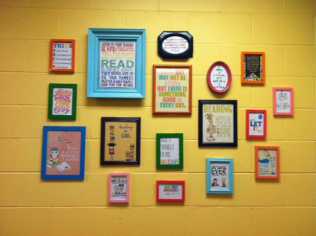 My quote wall from my classroom! Some photos found online and on ...