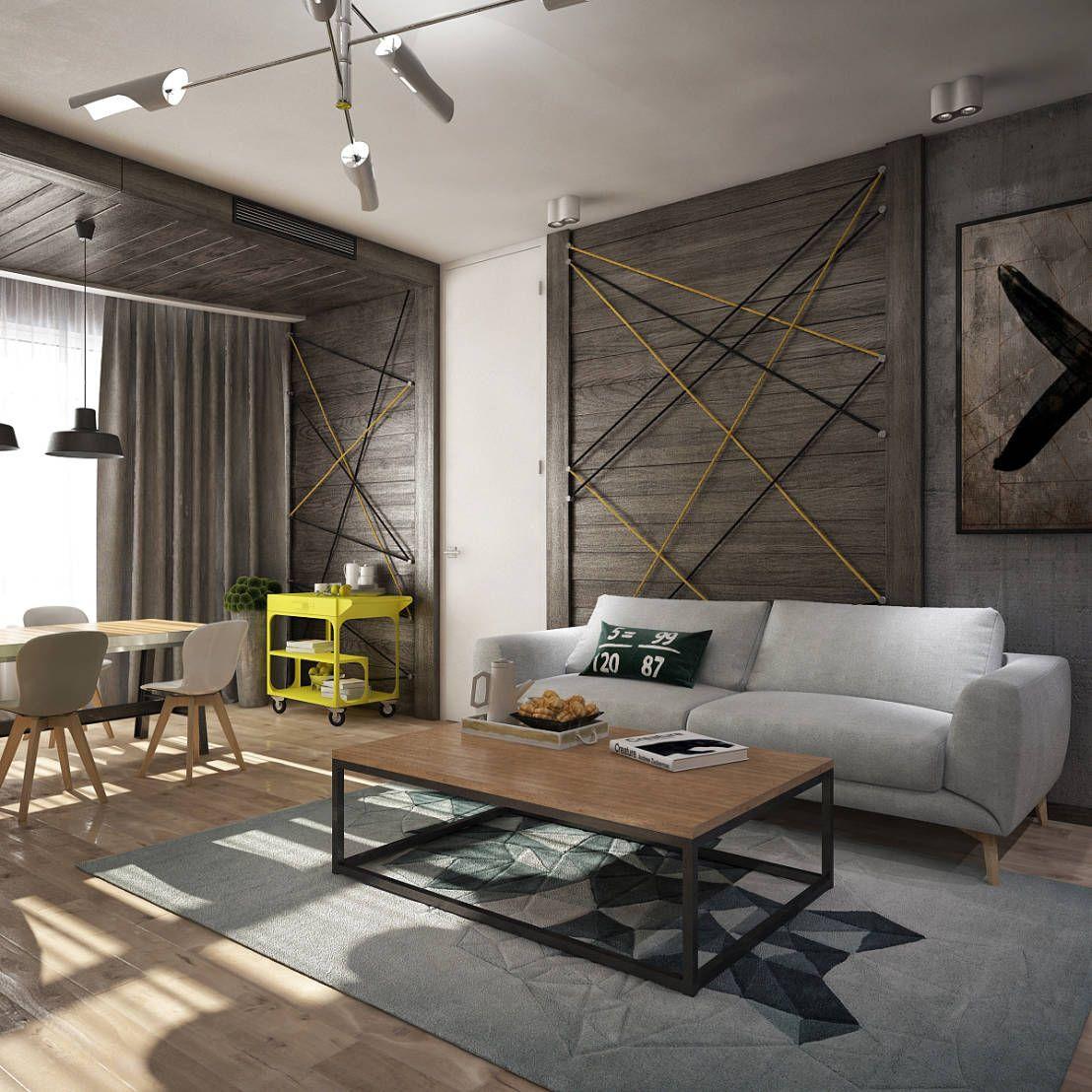 Moderne, elegante woonkamers waar iedereen van droomt