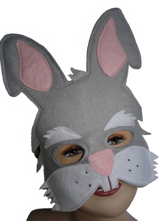 25393e1a4 This RABBIT mask is designed for everyday fun