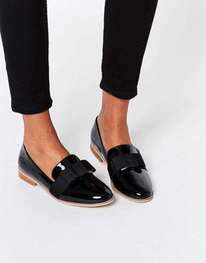 bekväma skor med klack