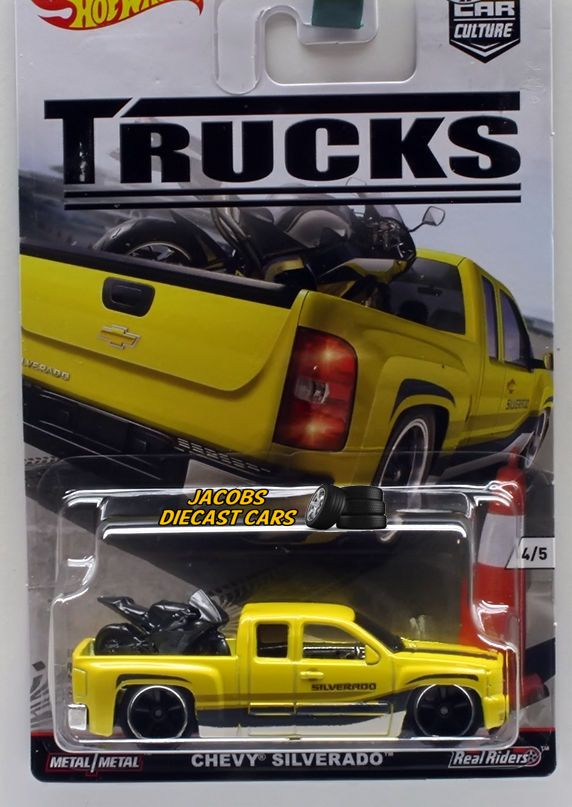 1 64 hot wheels car culture trucks series chevy. Black Bedroom Furniture Sets. Home Design Ideas