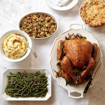 Large Turkey Dinner Delivered, Christmas #williamssonoma