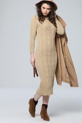 Tozlu Com Yeni Sezon Urunler Toptan Fiyatina Triko Moda Elbise