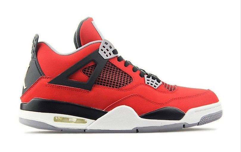 online store 63486 3bd42 308497-603 Air Jordan 4 IV Toro Bravo Fire Red White Black Cement Grey 2013