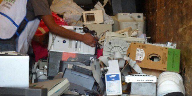Cerca de 15 toneladas de residuos electrónicos fueron acopiadas en Reciclatrón de CDMX