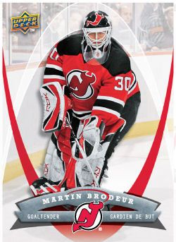 Martin Brodeur 2008 09 Mcdonalds Hockey Card Goalies Masked
