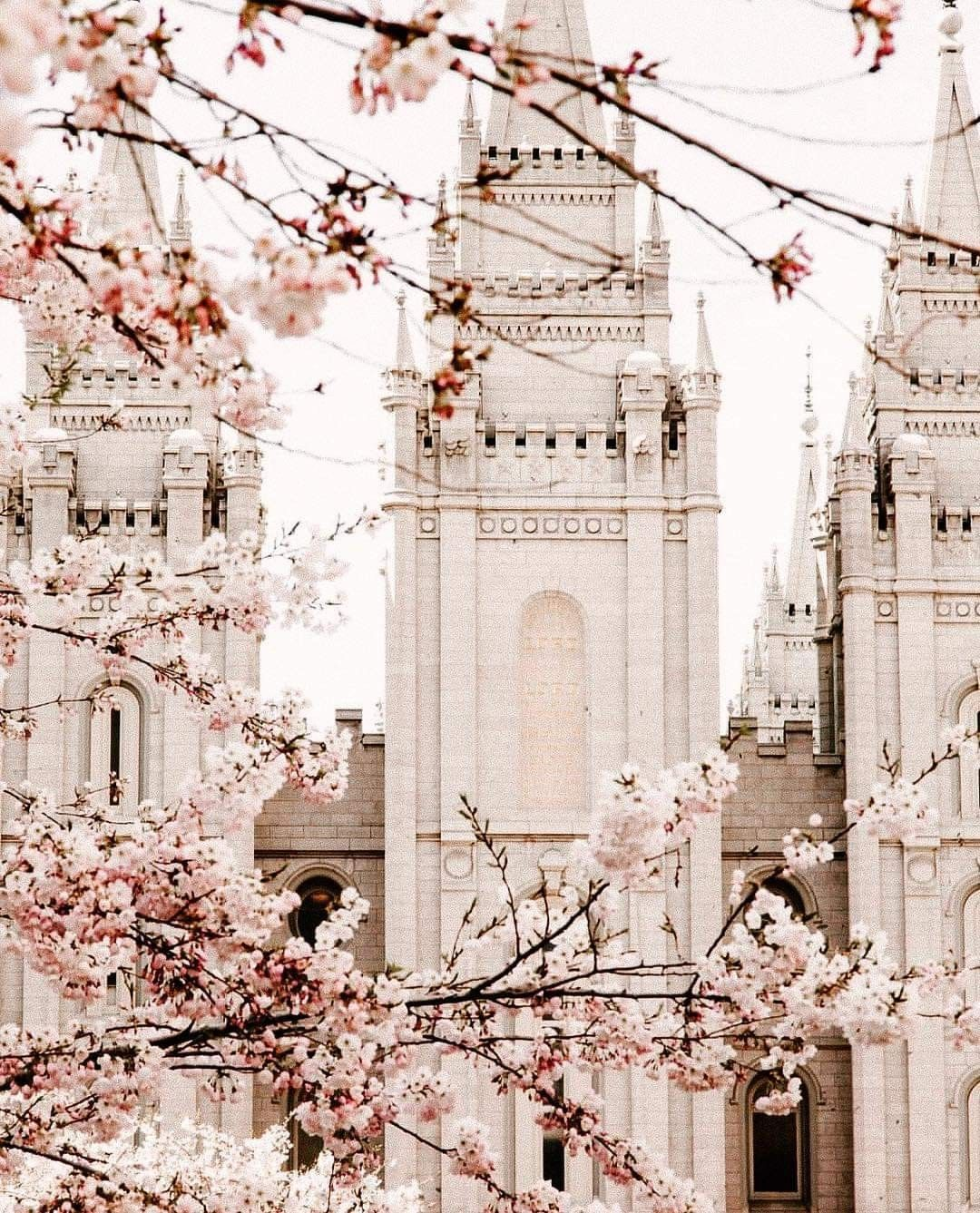 Salt Lake City Spring: Spring Salt Lake City Lds Temple