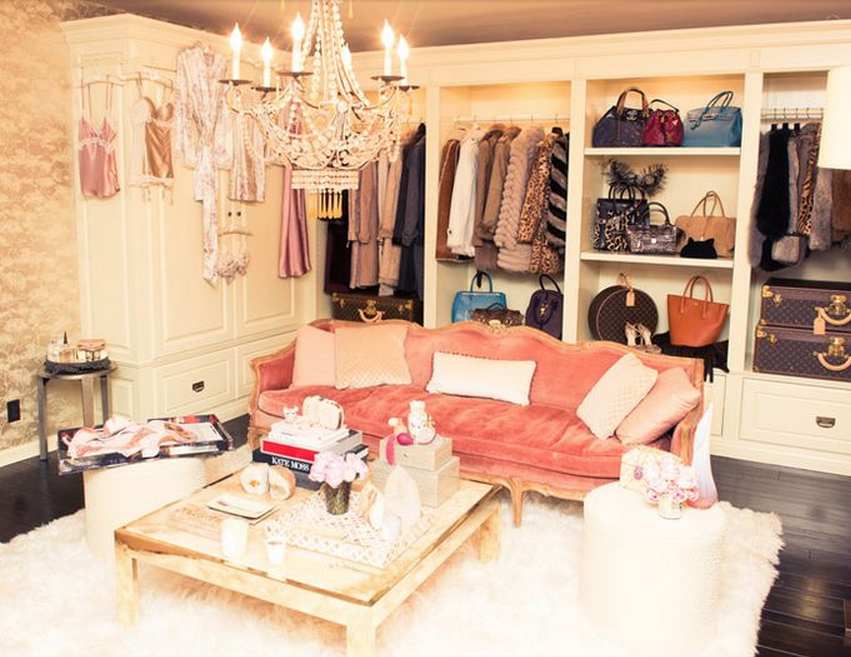 Bohemian Glamour Celebrity Closets Dream Closets Dressing Room Closet