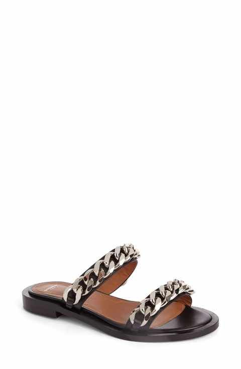 Givenchy Women's Double Chain Slide Sandal ghcg0uo
