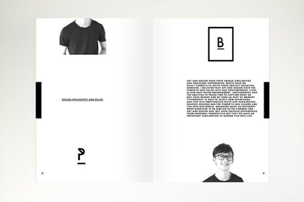 mini portfolio page layout | Architecture Boards/Images ...
