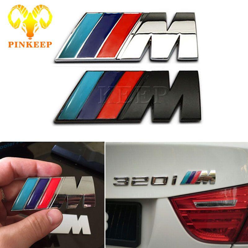 Auto Metalen Stickers Embleem Badge Decal Voor Bmw M